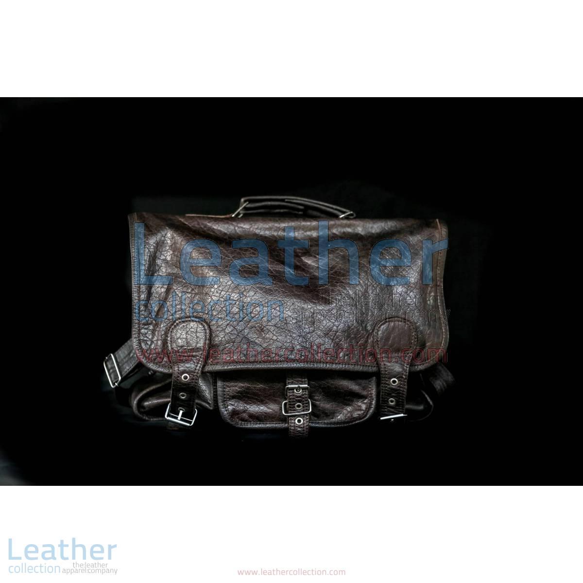 Alexzander Messenger Leather Bag