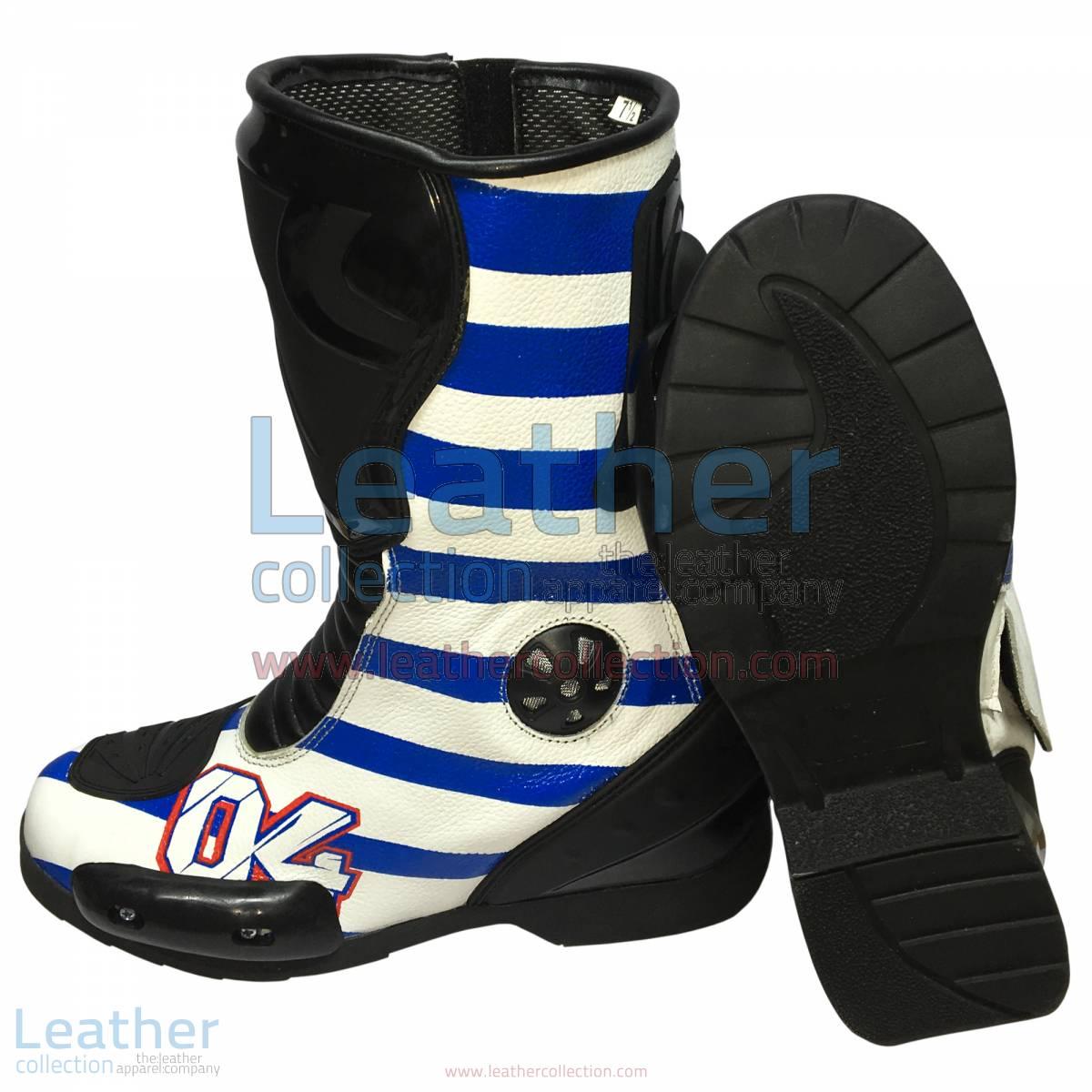 Andrea Dovizioso 2016 MotoGP Racing Boots
