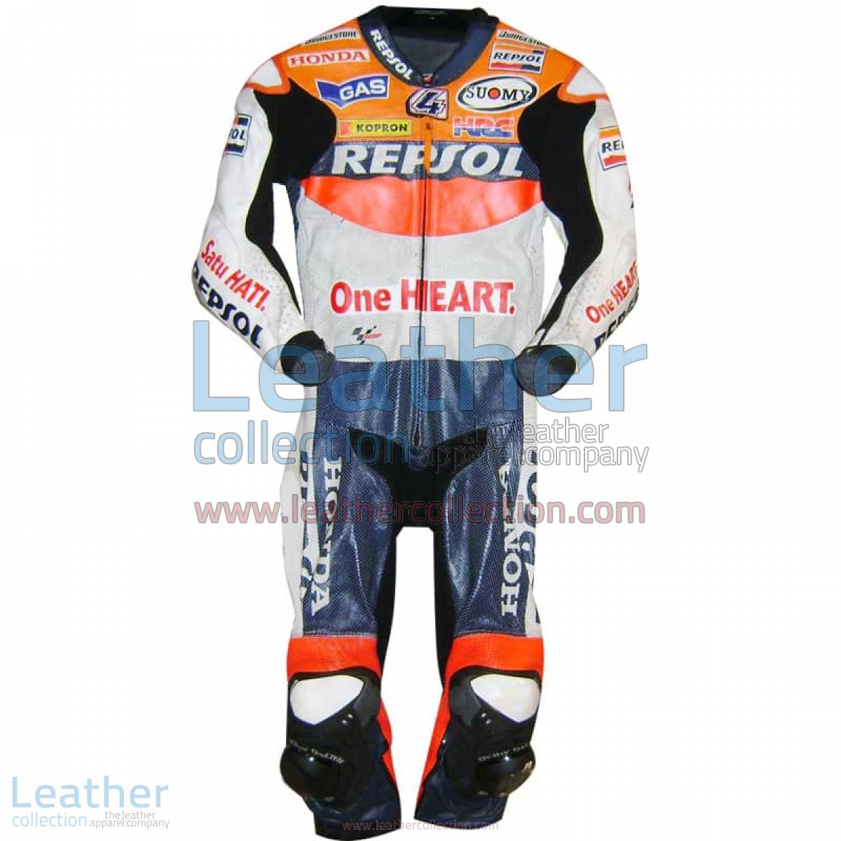 Andrea Dovizioso Repsol Honda 2010 MotoGP Leathers