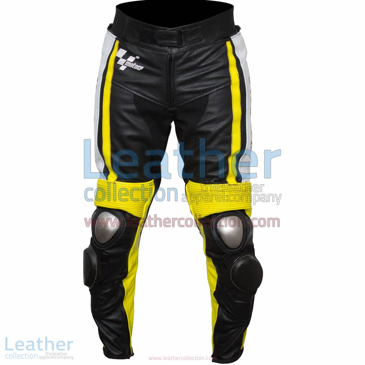 Ben Spies Yamaha Monster 2010 Leather Motorcycle Pants
