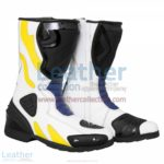 Chris Vermeulen Rizla Suzuki Race Boots | Suzuki boots