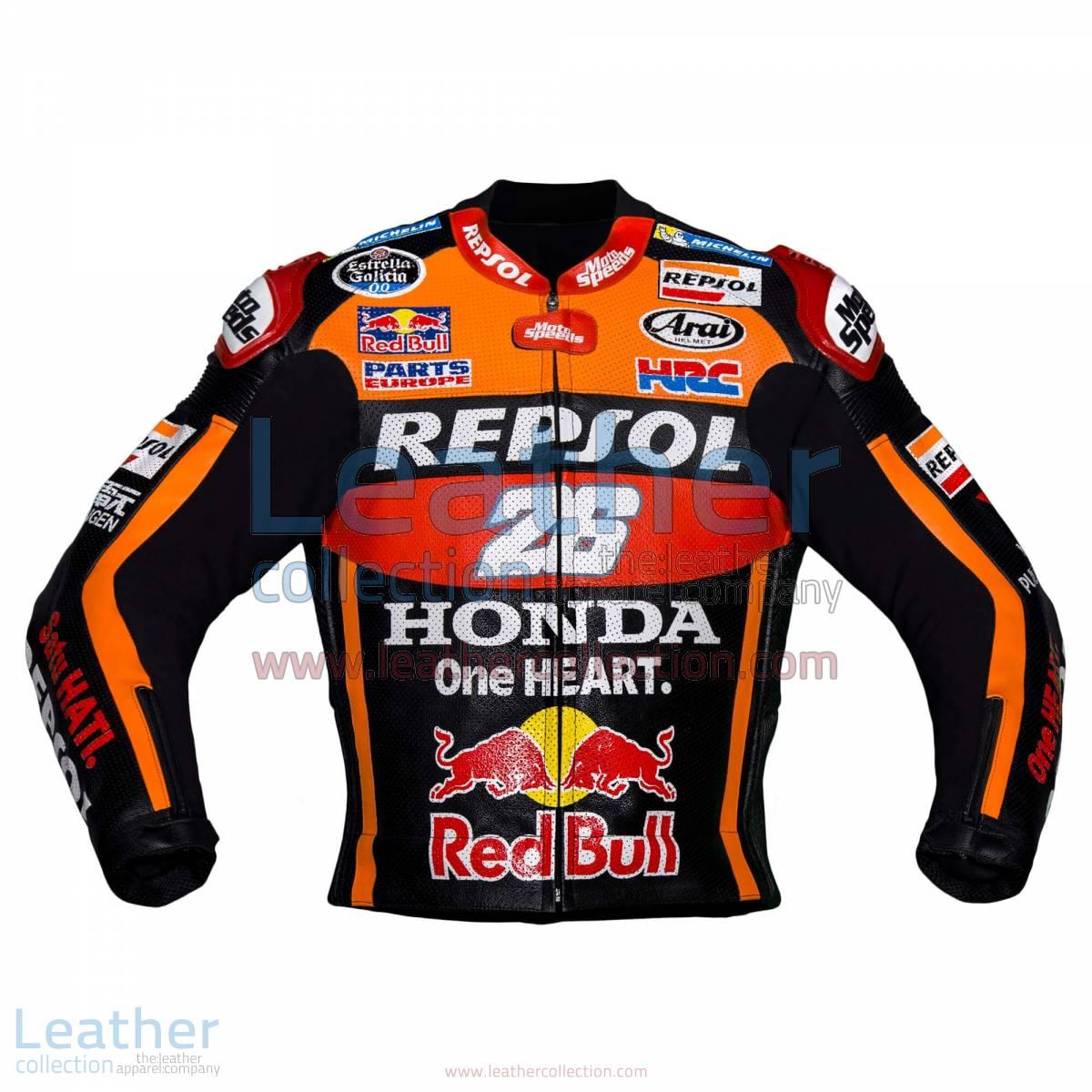 Dani Pedrosa 26 Honda Repsol Black Jacket 2017