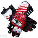 Dani Pedrosa 26 MotoGP 2017 - 2018 Race Gloves | Dani Pedrosa 26 MotoGP 2017 - 2018 Race Gloves