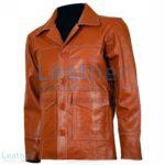 Fight Club Original Tan Leather Jacket | fight club jacket