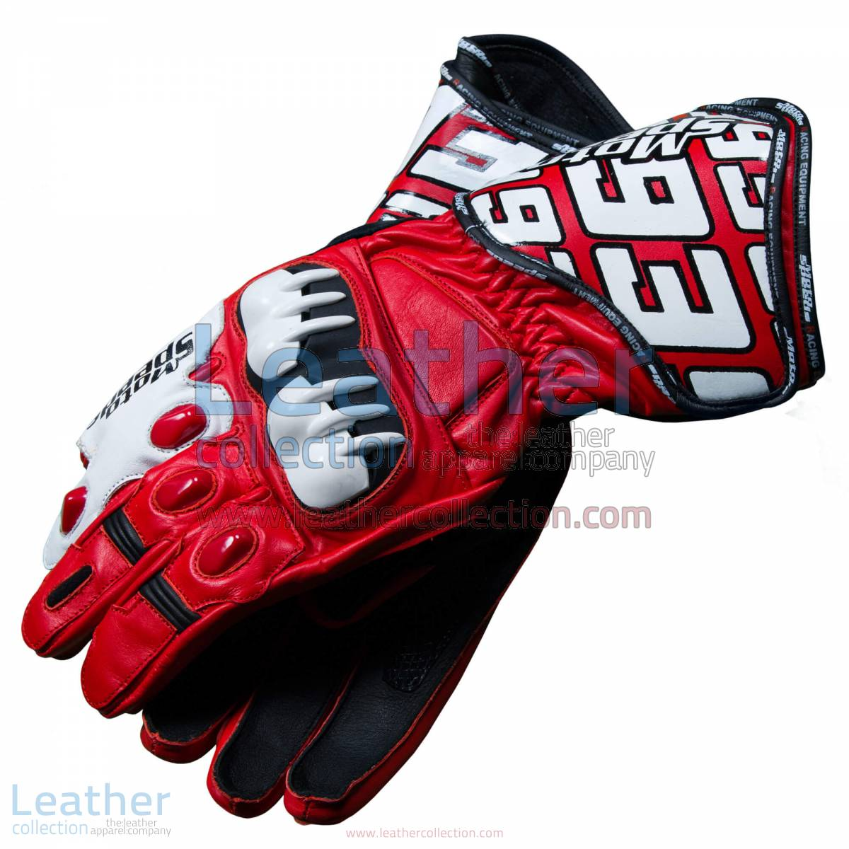 Honda Repsol 2013 Marquez Leather Gloves