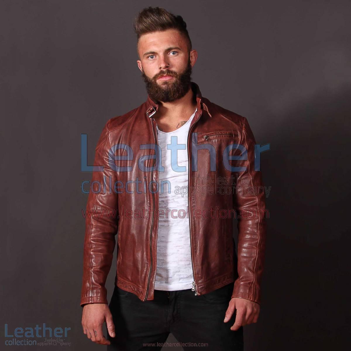 Jazz Leather Jacket for Men