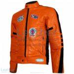 Kill Bill Movie Womens Orange Leather Jacket | kill bill jacket