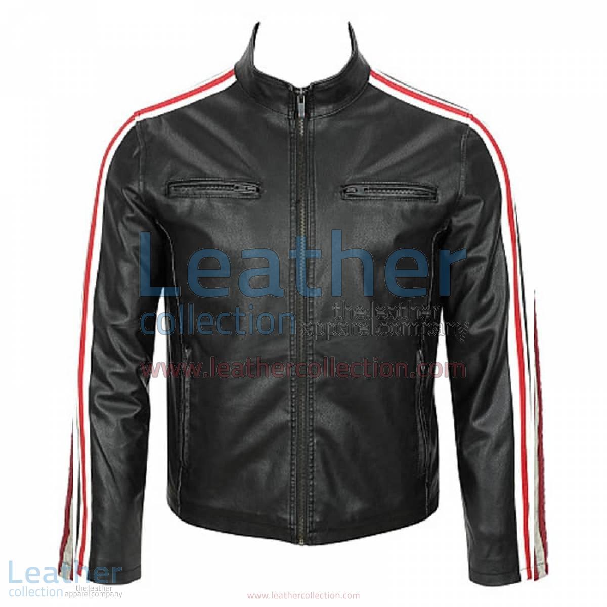Leather Motorcycle Fashion Jacket