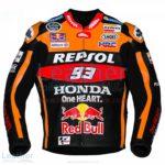 Marc Marquez 93 Honda Repsol Black Jacket 2017 | Marc Marquez 93 Honda Repsol Black Jacket 2017