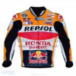 Marc Marquez Honda Repsol MotoGP 2016 Leather Jacket | Marc Marquez Honda Repsol MotoGP 2016 Leather Jacket