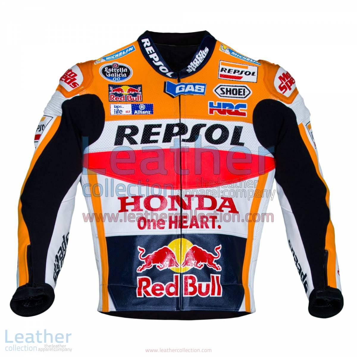 Marc Marquez Honda Repsol MotoGP 2016 Leather Jacket