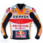 Marc Marquez Honda Repsol MotoGP 2017 Leather Jacket | Marc Marquez Honda Repsol MotoGP 2017 Leather Jacket