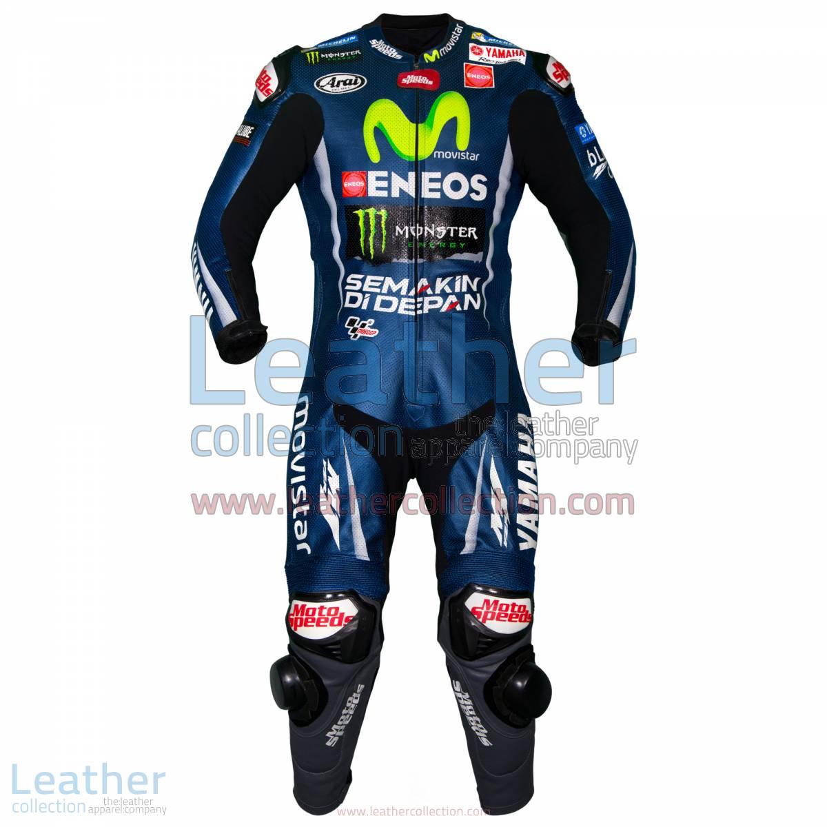 Maverick Vinales Movistar Yamaha MotoGP 2017 Suit