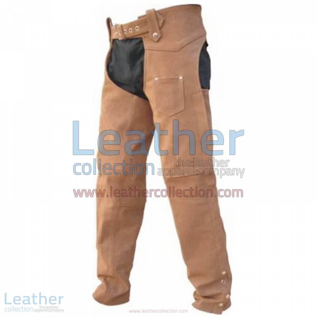 Men's leather Riding Chaps