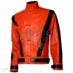 Michael Jackson Thriller Leather Jacket | michael jackson jacket