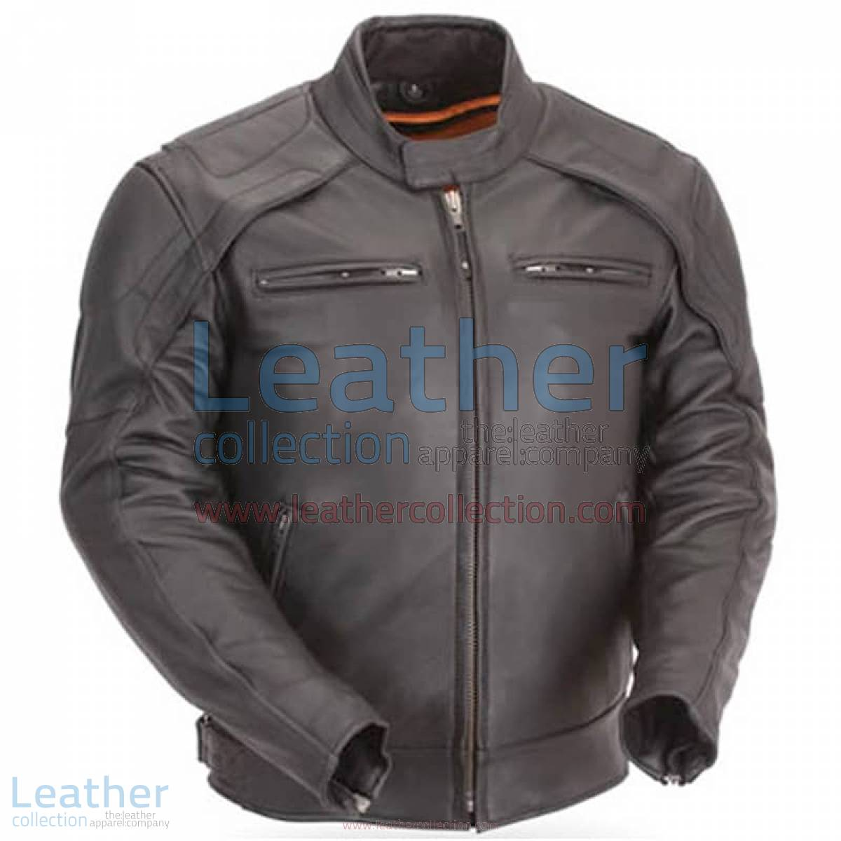 Motorcycle Reflective Piping & Vented Jacket