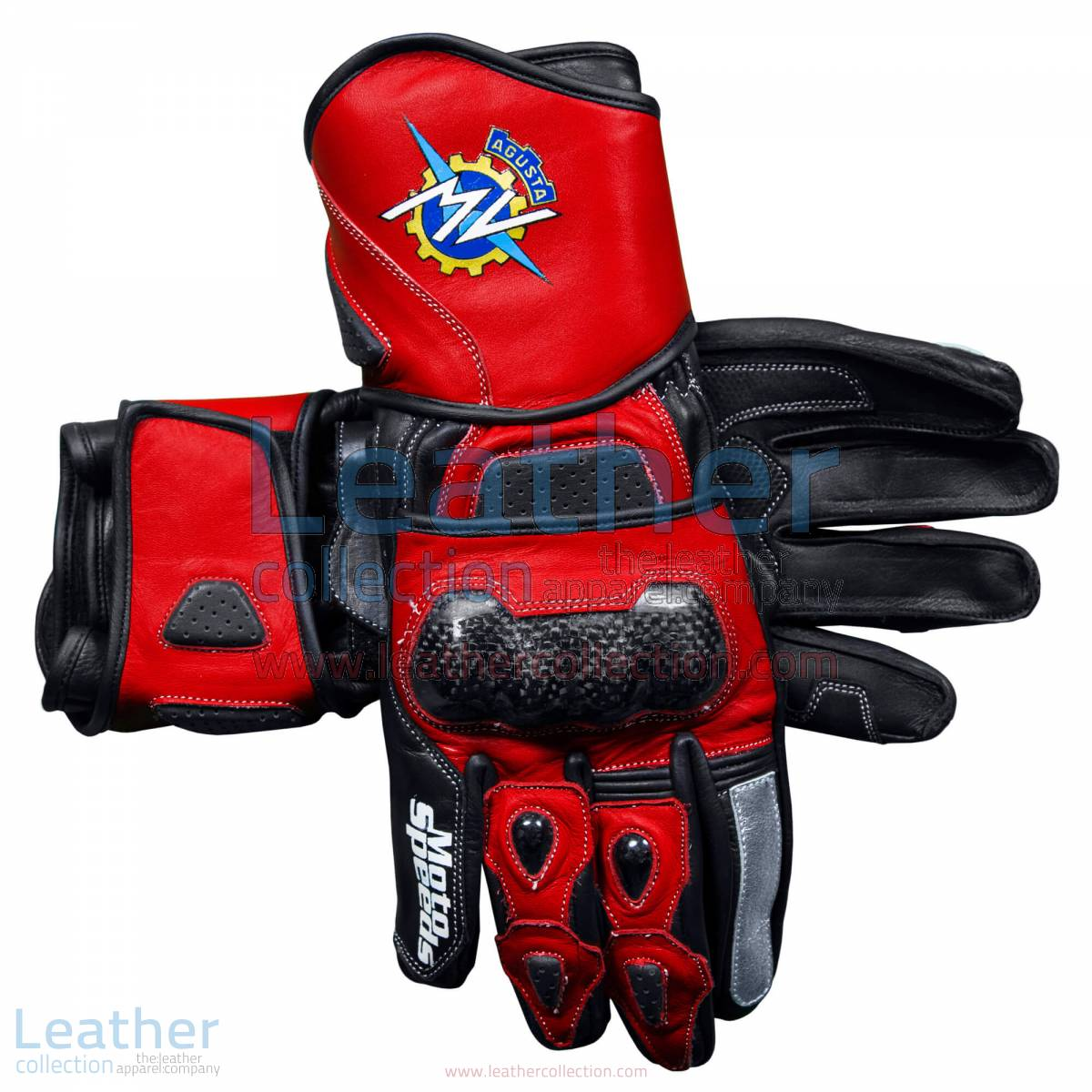 MV Agusta 2017 Leather Motorcycle Gloves