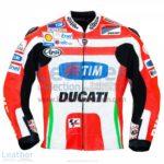 Nicky Hayden Ducati 2012 MotoGP Leather Jacket | Nicky Hayden Ducati 2012 MotoGP Leather Jacket
