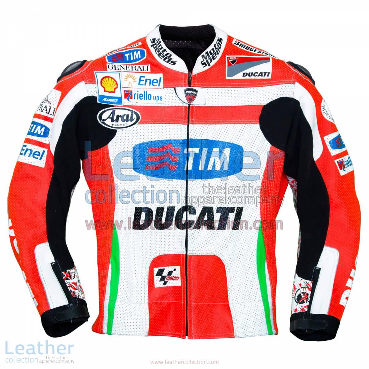 Nicky Hayden Ducati 2012 MotoGP Leather Jacket