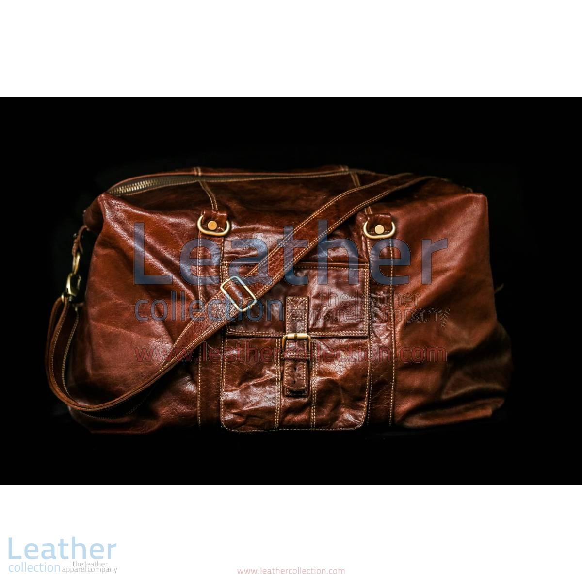 Rome Leather Luggage Bag