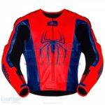 Spiderman Leather Motorcycle Jacket | Spiderman Leather Motorcycle Jacket