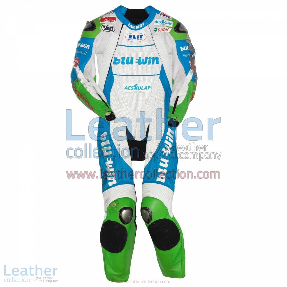 Thomas Luthi Honda GP 2005 Leather Suit
