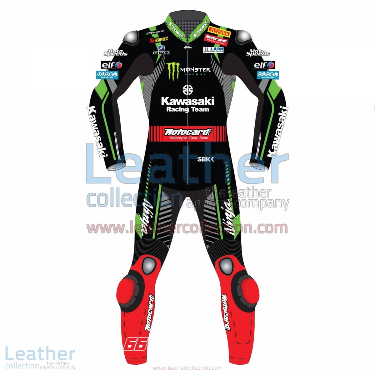 Tom Sykes Kawasaki WSBK 2018 Leather Suit