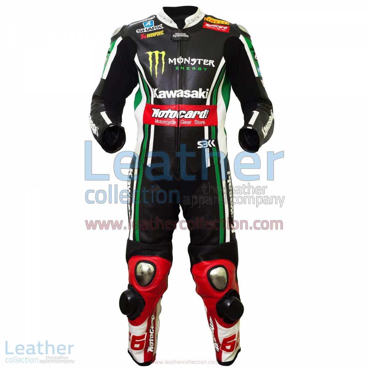 Tom Sykes Kawasaki 2015 MotoGP Leathers