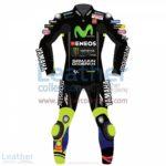 Valentino Rossi Movistar Yamaha Racing 2017 Suit Black | Valentino Rossi clothing
