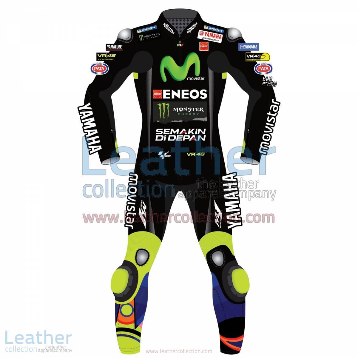 Valentino Rossi Movistar Yamaha Racing 2017 Suit Black