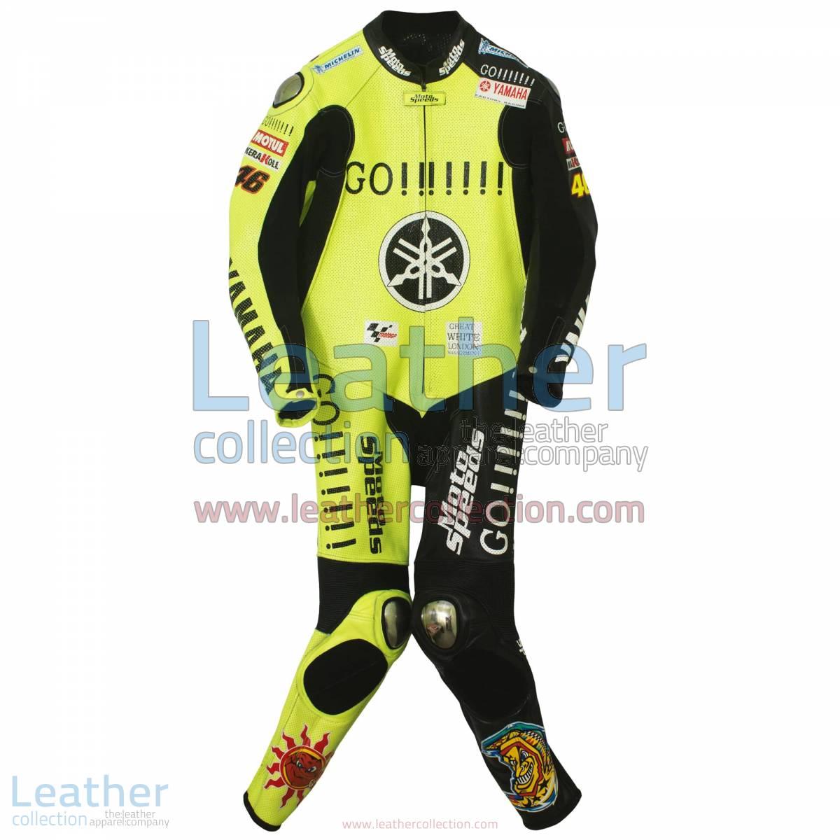 Valentino Rossi Winter Test Yamaha MotoGP 2005 Suit
