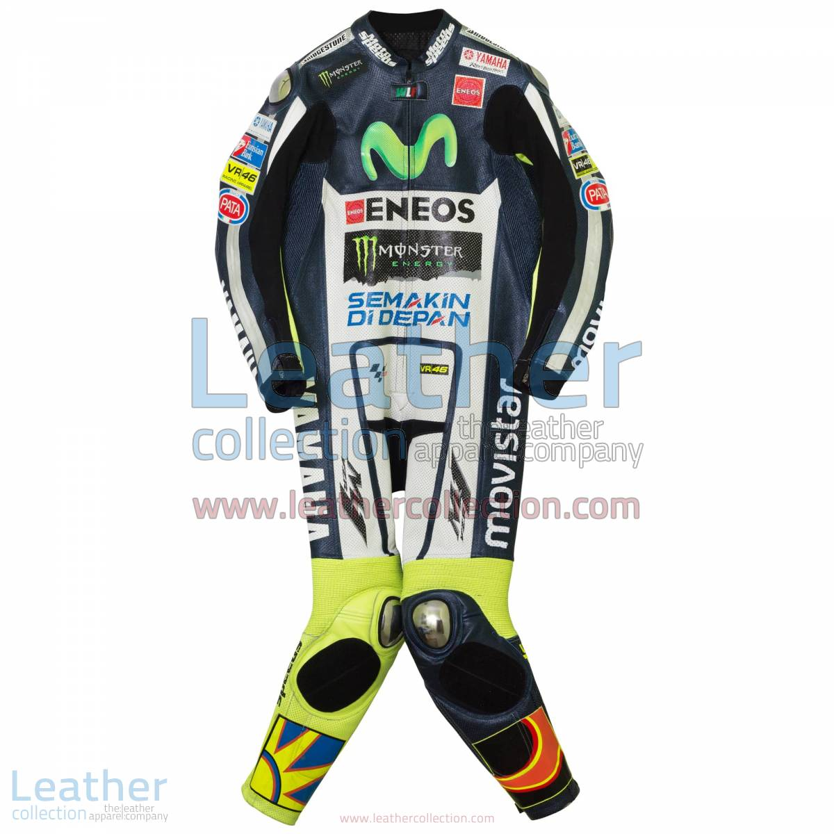 Valentino Rossi Movistar Yamaha MotoGP 2015 Suit