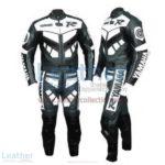 Yamaha R Racing Leather Suit Gun Metal | yamaha r