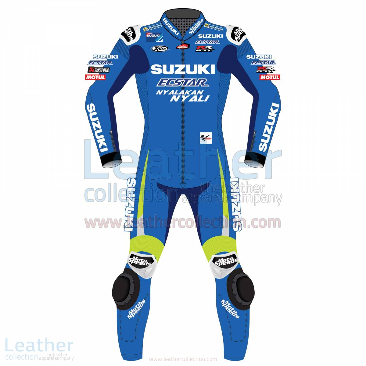 Suzuki racing suit