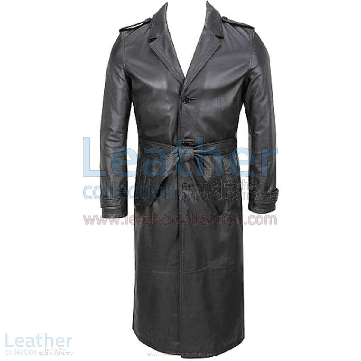 cheap black trench coat mens