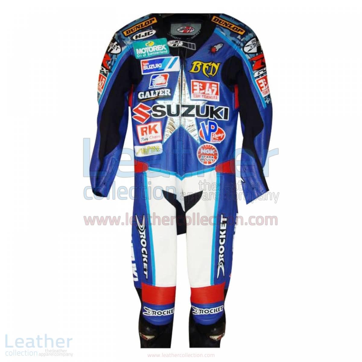 Ben Spies American Suzuki Leathers 2005 AMA
