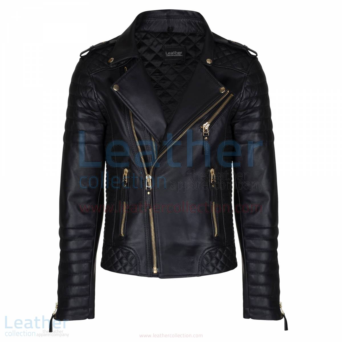 mens blacke moto jacket
