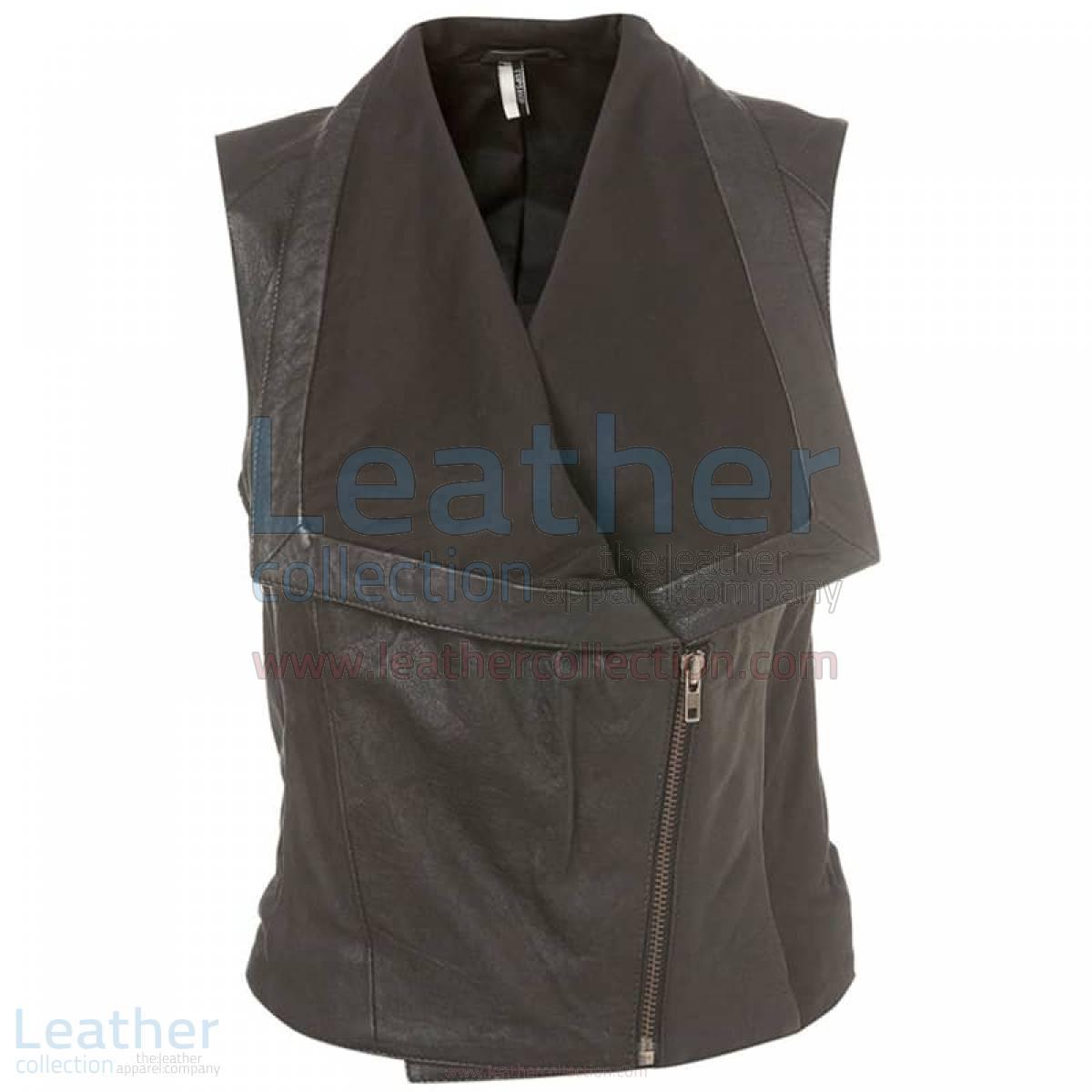 Ladies Fashion Leather Vest