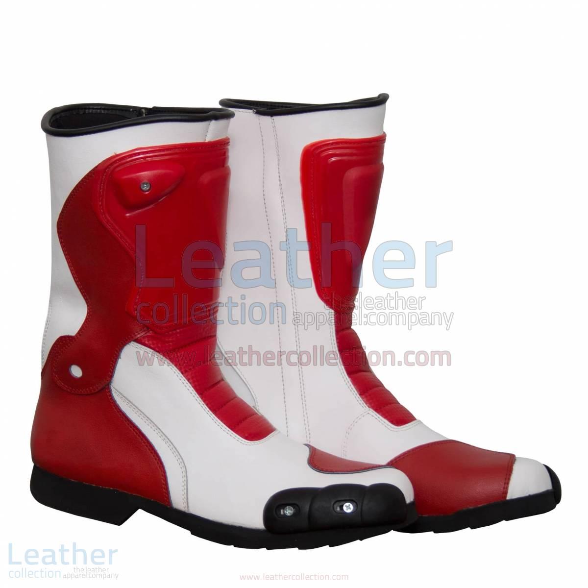 Marco Simoncelli Motorbike Riding Boots