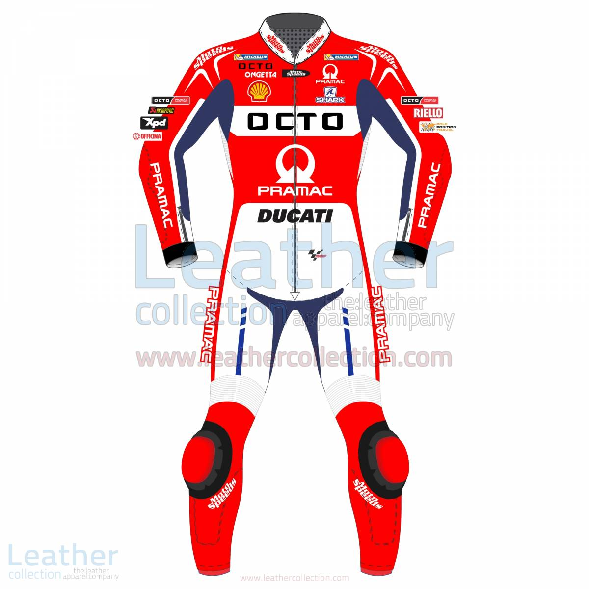 Ducati leather suit