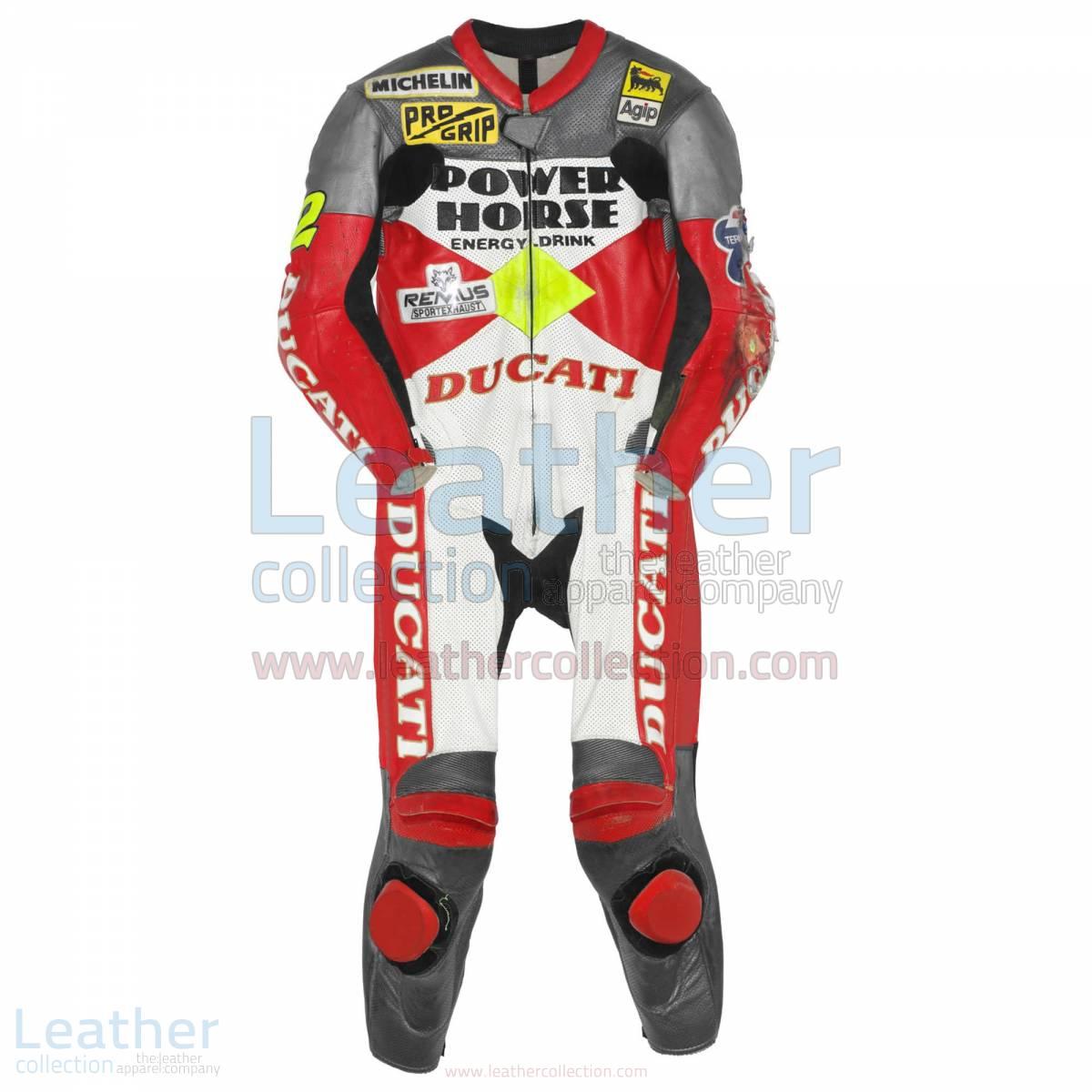 Troy Corser Ducati WSBK 1996 Leather Suit