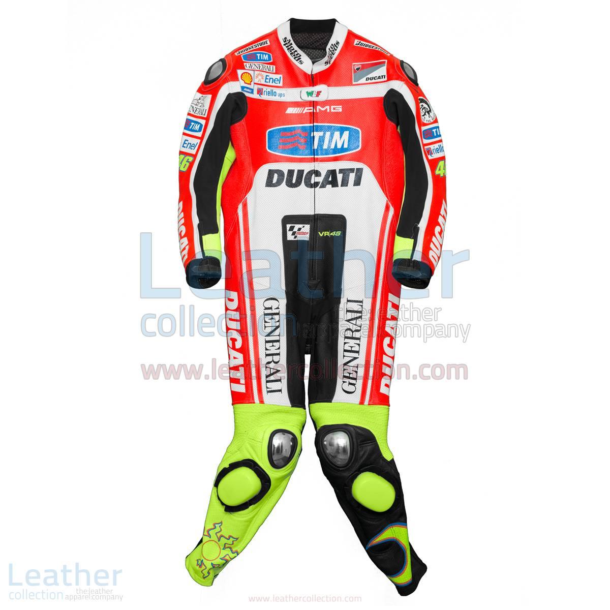 Valentino Rossi Ducati Corse 2012 Leathers