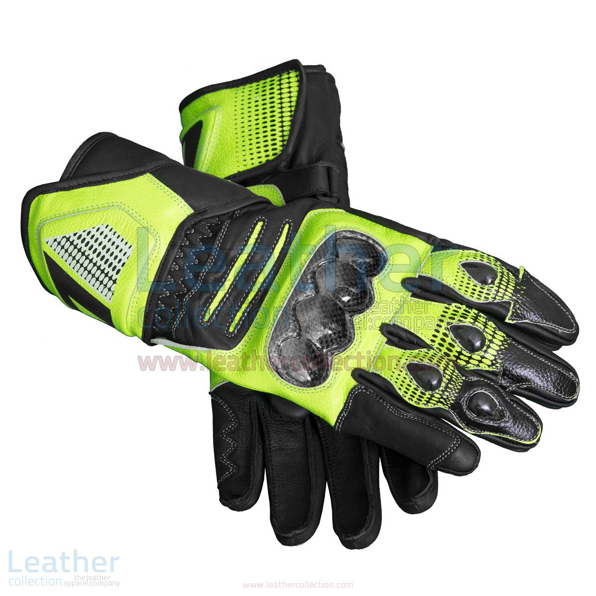Valentino Rossi Motorcycle Race Gloves