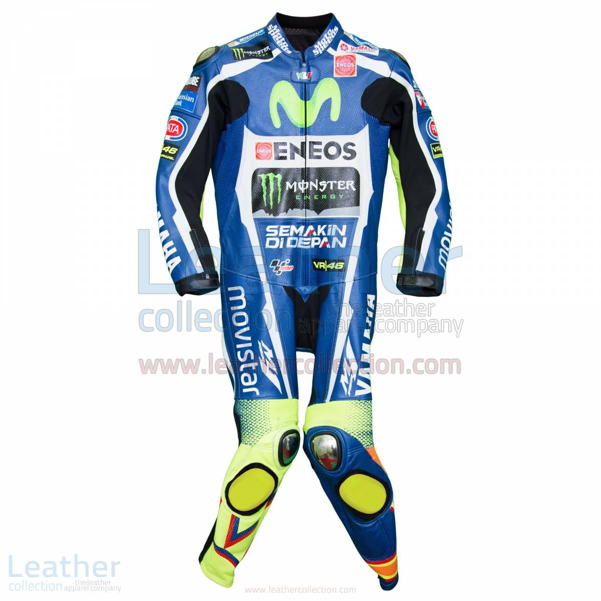 Valentino Rossi Movistar Yamaha Losail Circuit MotoGP 2016 Suit
