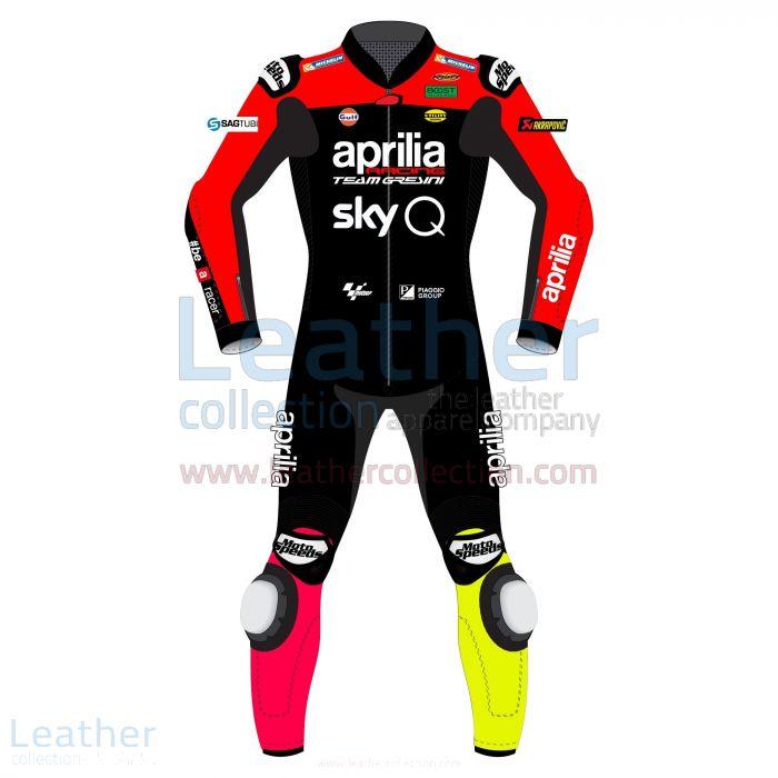 Aleix Espargaro Aprilia MotoGP 2019 Race Suit front view