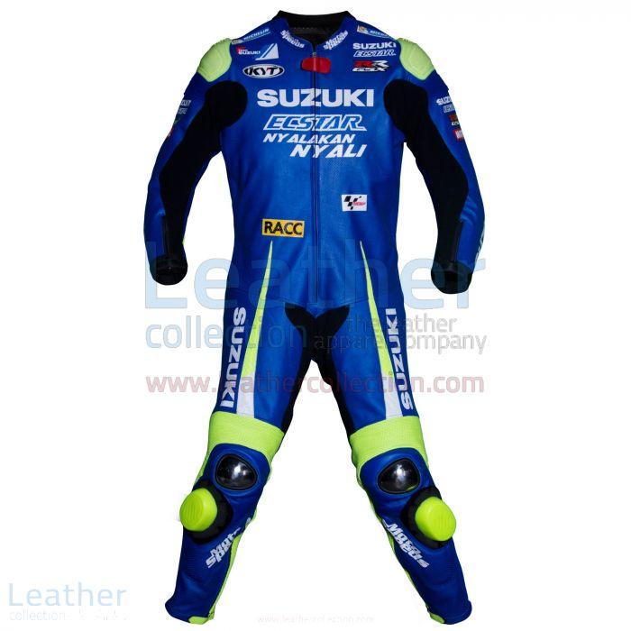 Aleix Espargaro Traje Suzuki 2016 MotoGP Vista Frontal
