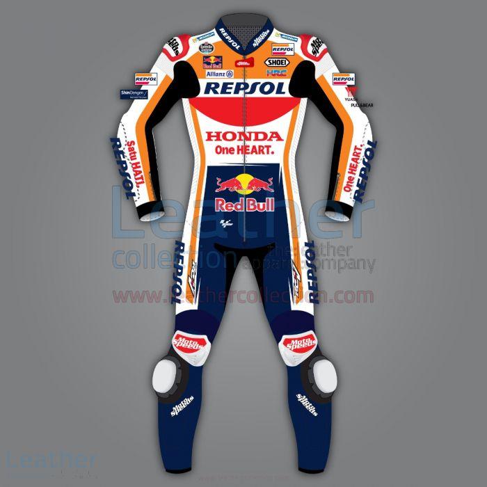 Alex Marquez Honda Repsol Race Leathers Motogp 2020 front view