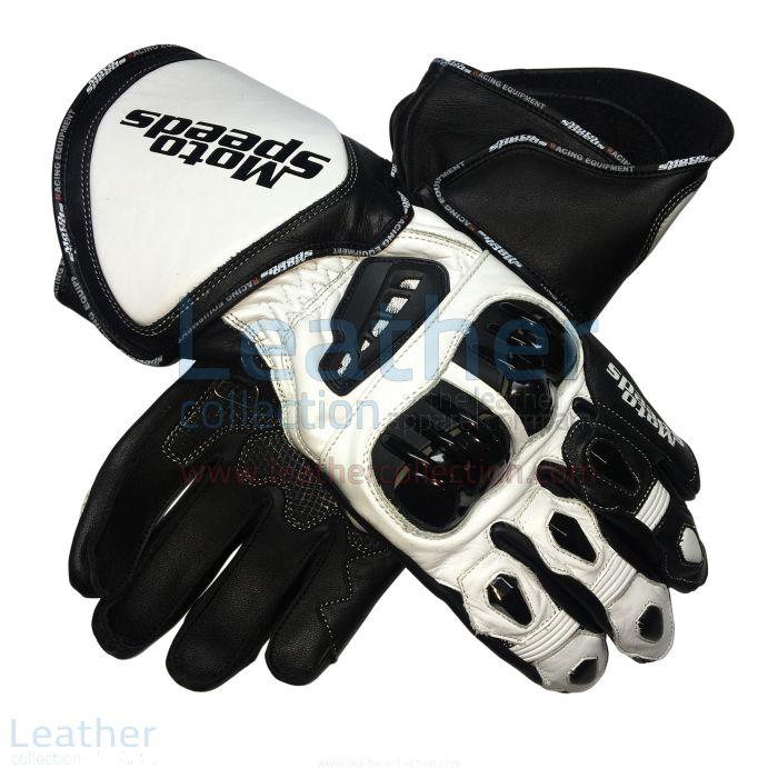 Alex Rins MotoGP 2017 Leather Gloves both views