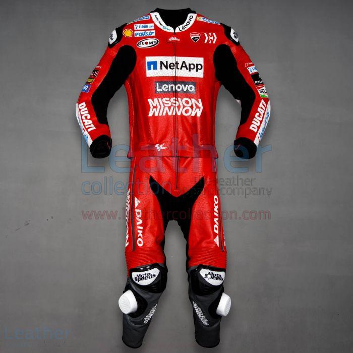 Andrea Dovizioso Ducati MotoGP 2019 Suit front view