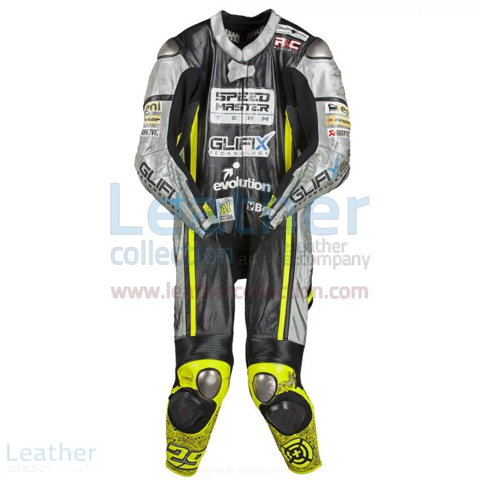 Andrea Iannone Speed UP 2012 Racing Suit front view